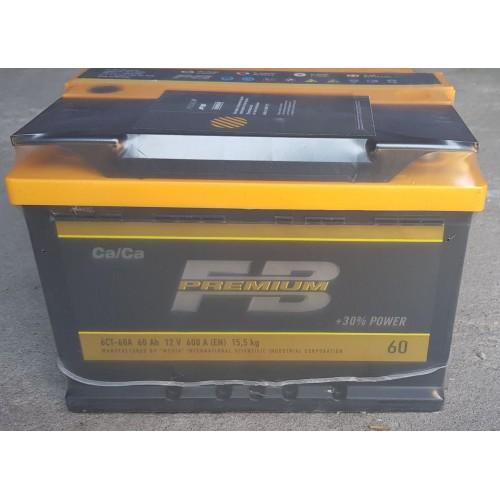 Аккумулятор автомобильный 60Ач FB Premium