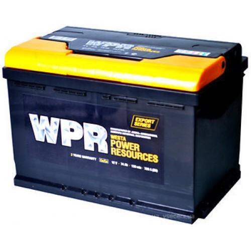 Аккумулятор автомобильный 60Ач WPR Premium