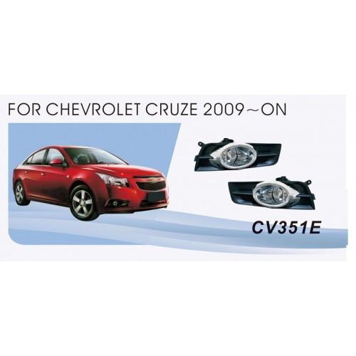Фары Chevrolet Cruze 2009-/CV-351E-W