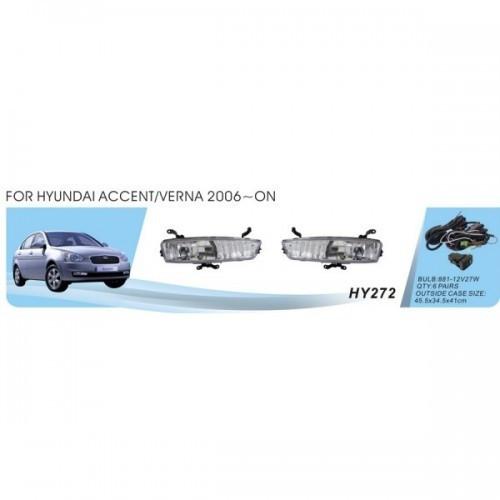 Фары Hyundai Accent/Verna 2006/HY-272W