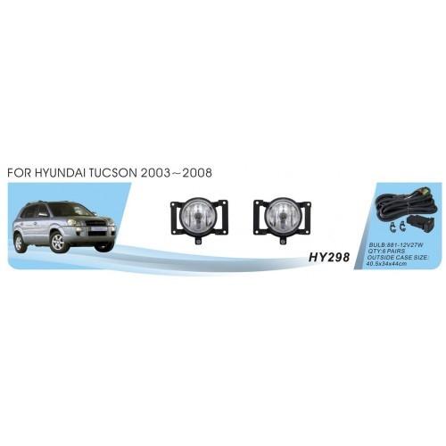 Фары Hyundai Tucson/2003-08/HY-298