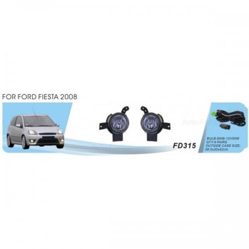 Фары Ford Fiesta 2006-08/КА 2008-/FD-315-W