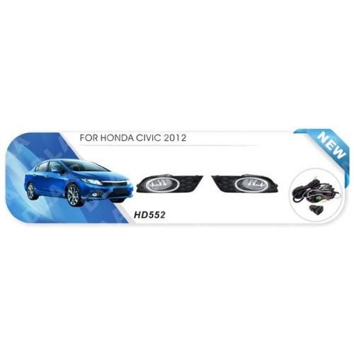 Фары Honda Civic/2012/HD-552-W