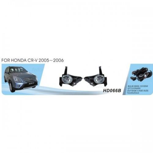Фары Honda CRV/2005/HD-066B