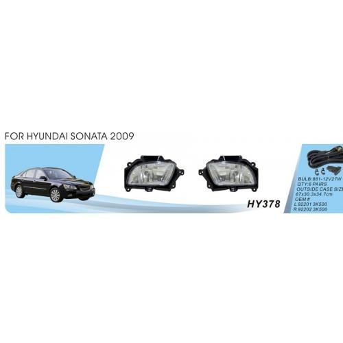 Фары Hyundai Sonata/2009/HY-378
