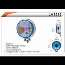 Фары дополнительные DLAA 1515 RY/H3+T10-12V-55W/D=143mm