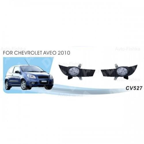 Фары Chevrolet Aveo Hatchback/2010-12/CV-527W