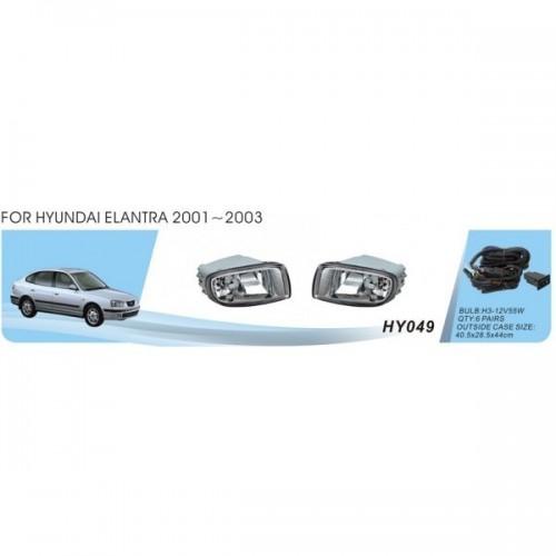 Фары Hyundai Elantra/2001/HY-049