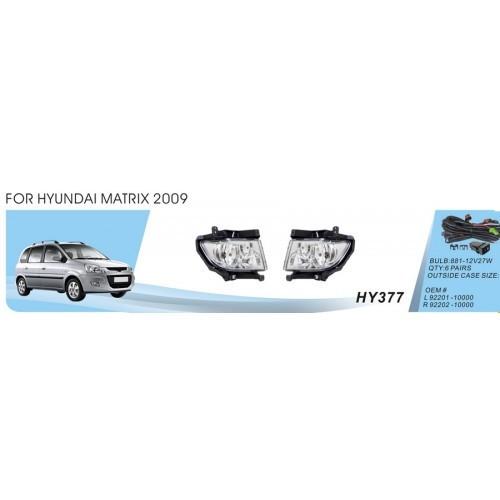 Фары Hyundai Matrix/2009/HY-377