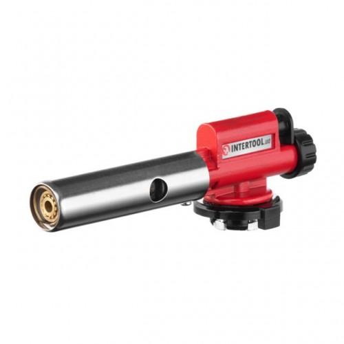 Горелка газовая с пьезозажиганием Intertool GB-0027