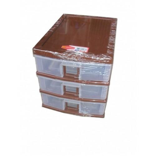 Комод канцелярский 4538 коричневый