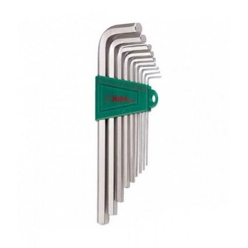 Комплект HANS угловых шестигранных ключей 16762-9М