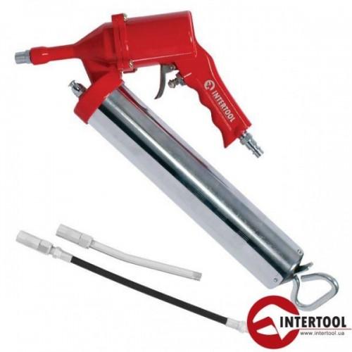 Пистолет для выдавливания смазки пневматический Intertool PT-0607