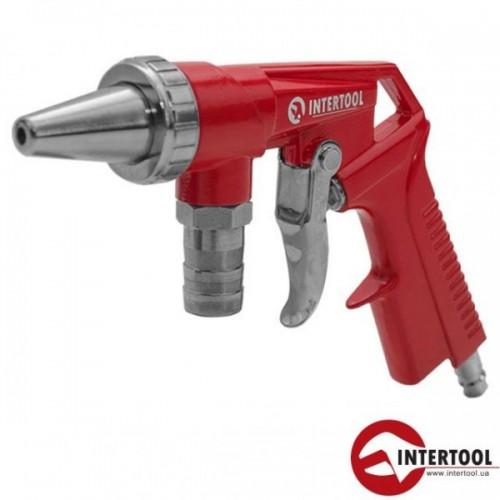 Пистолет пескоструйный пневматический Intertool PT-0706