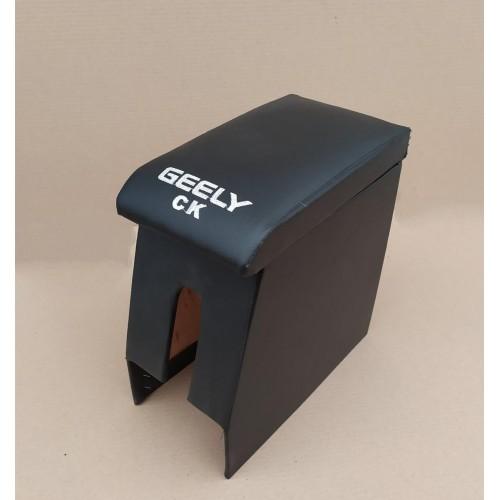 Подлокотник Geely CK / Джили СК (черный с логотипом)