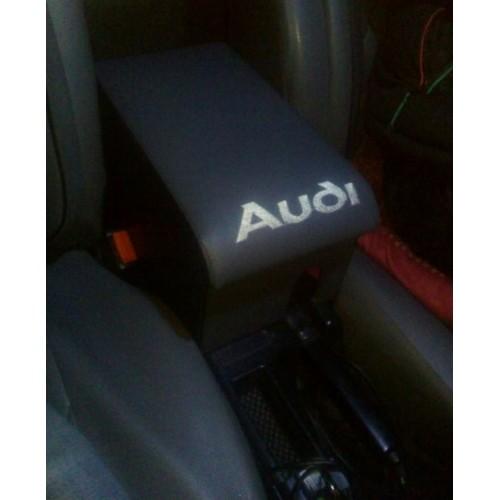 Подлокотник Audi 80 с вышивкой