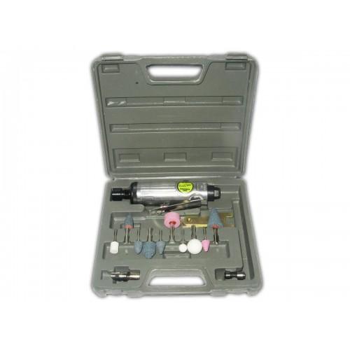 Пневматическая шлиф машинка с комплектом шарожек Alloid ПШ- 1206