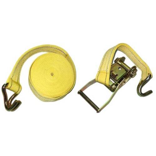 Стяжка груза 5Т. ST-212D-14 YL 50мм х 14м (мех.+трос)