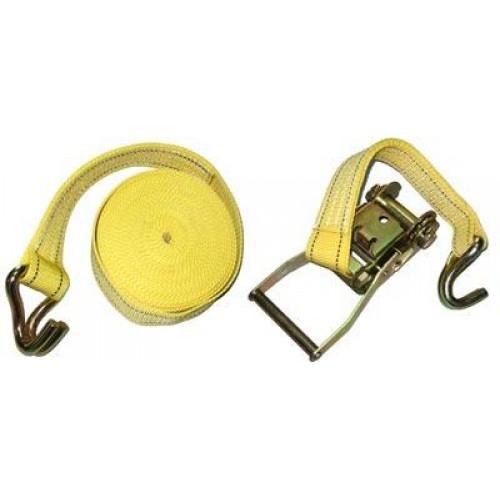 Стяжка груза 5Т. ST-212D- 6 YL 50мм х 6м (мех.+трос)