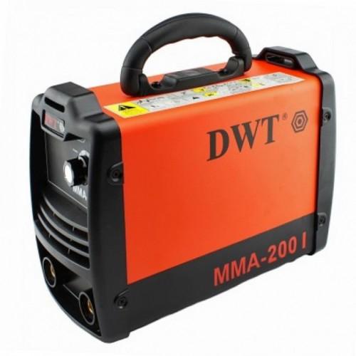 Инверторный сварочный аппарат DWT ММА-200 I