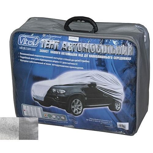 Тент автомобильный Vitol JC13401 M серый