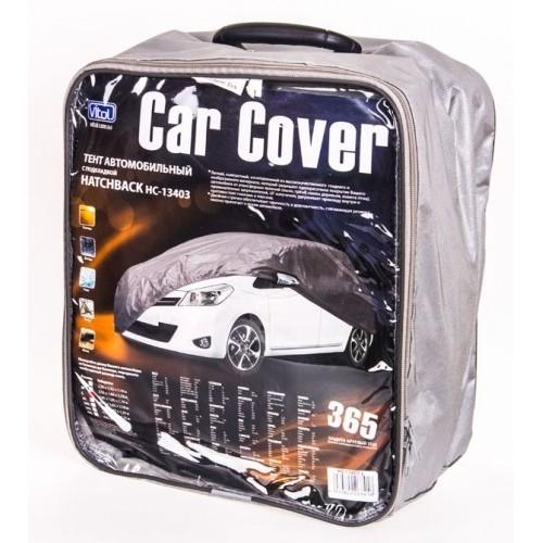 Тент автомобильный Vitol HC11106 L серый
