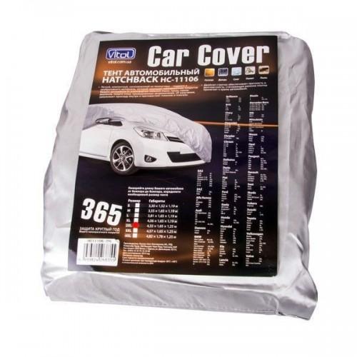 Тент для автомобиля Vitol HC11106 3XL Hatchback серый