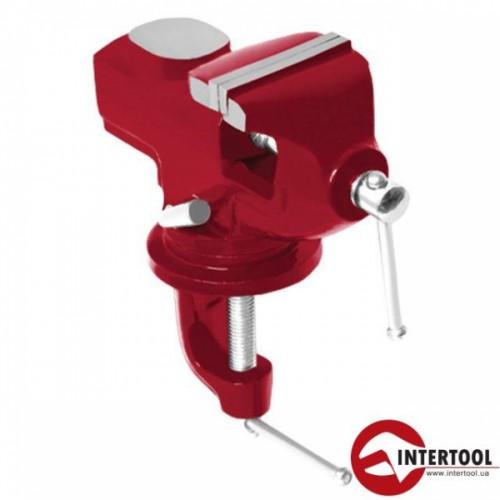 Тиски слесарные поворотные Intertool HT-0054