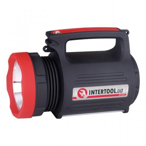 Фонарь аккумуляторный Intertool LB-0105