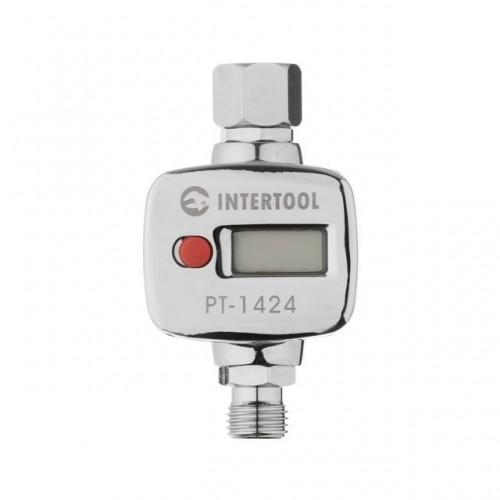 Регулятор давления воздуха с цифровым манометром Intertool PT-1424