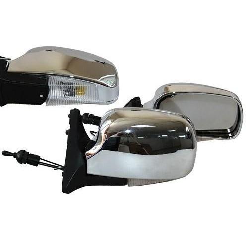 Зеркало боковое Vitol YH-3107A Chrome/light