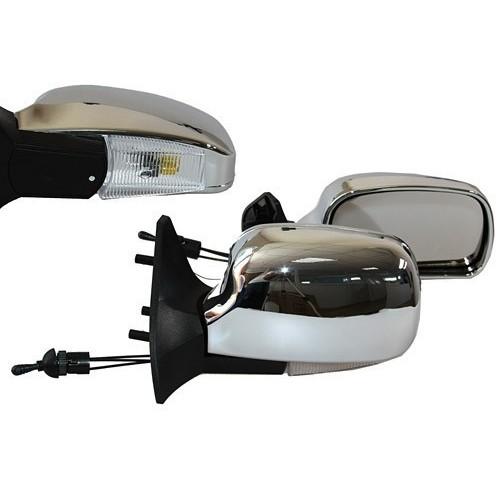 Зеркало боковое Vitol YH-3109A Chrome/light