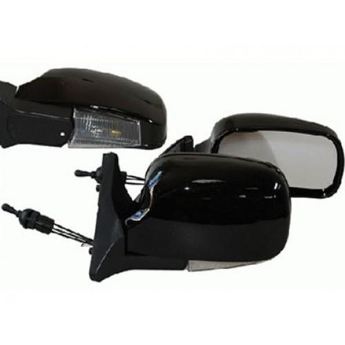 Зеркало боковое Vitol ЗБ 3107П Black с поворотом