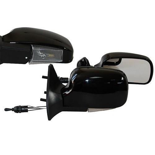 Зеркало боковое Vitol ЗБ 3109П BLACK с поворотом