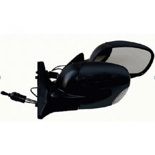 Зеркало боковое Vitol ЗБ 3298П-10 черное с поворотом