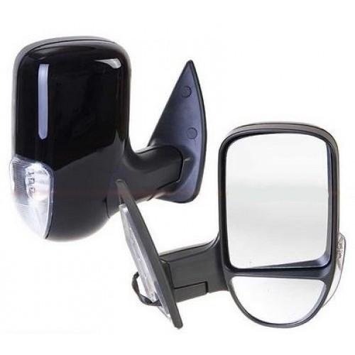 Зеркало боковое Vitol ЗБ-3296 черное с поворотом
